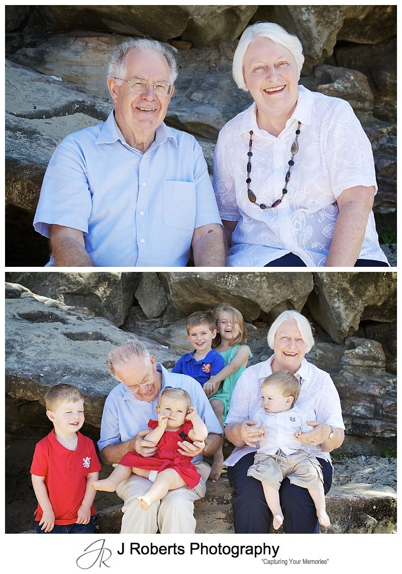 Grandparents portraits - sydney family portrait photography